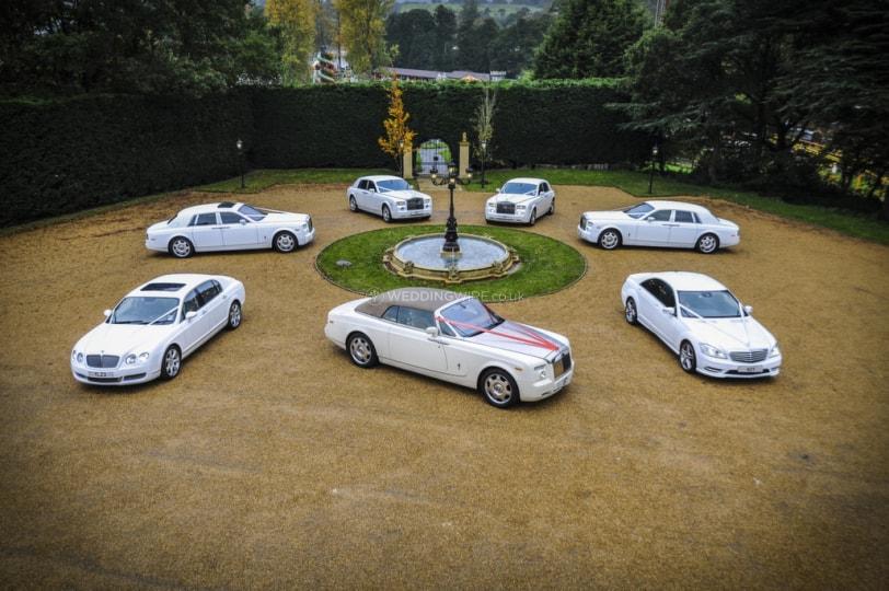 wedding car hire in uk
